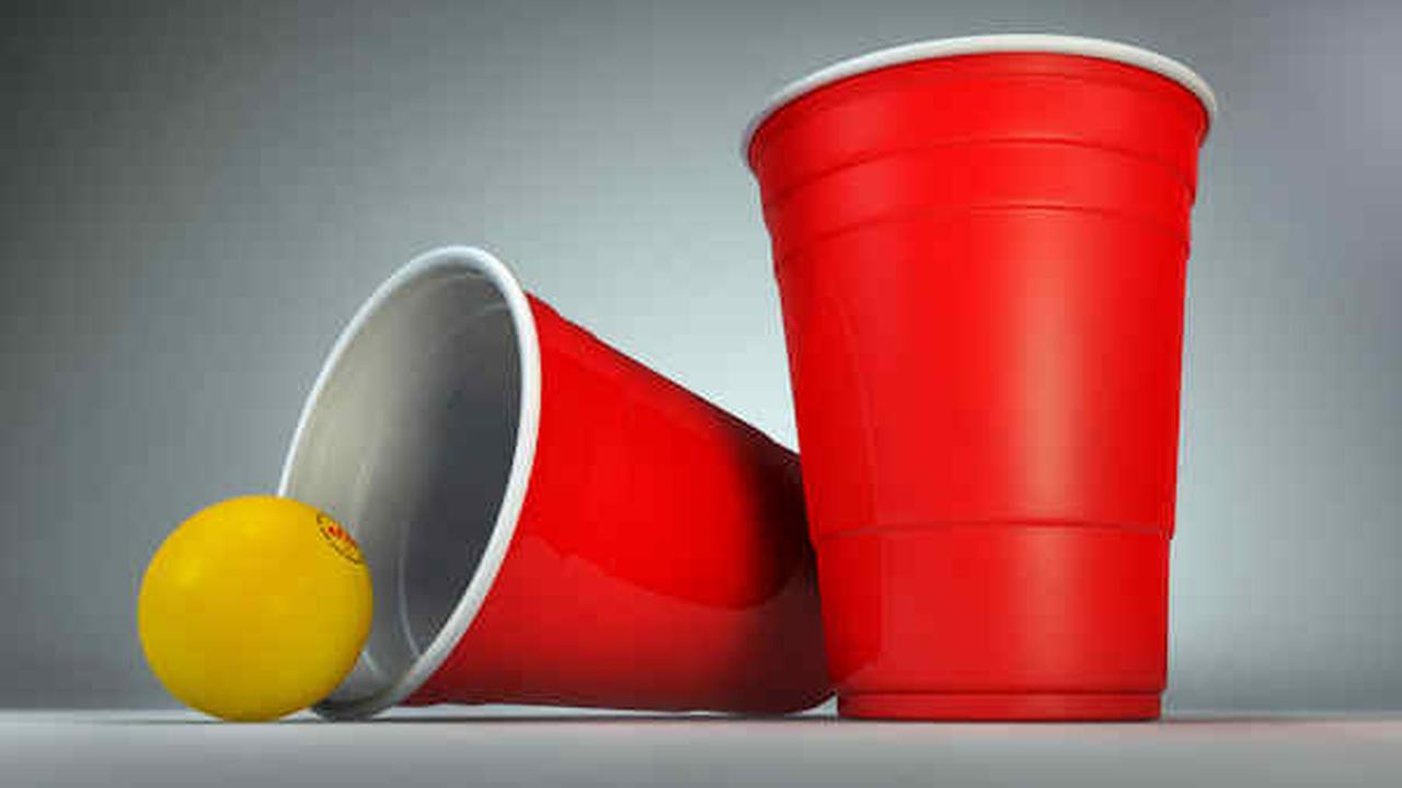 Princeton NJ high school students pictured playing 'Jews vs. Nazis' beer pong