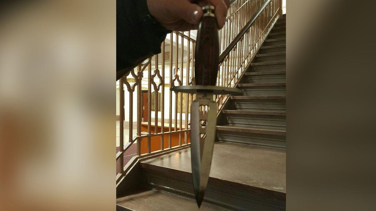 Student at Newtown High School in Queens puts dagger to girl's throat, police say