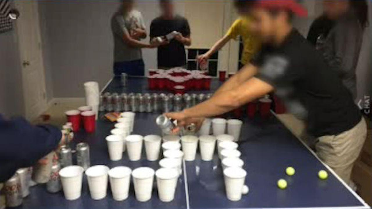 New Jersey high school students pictured playing 'Jews vs. Nazis' beer pong