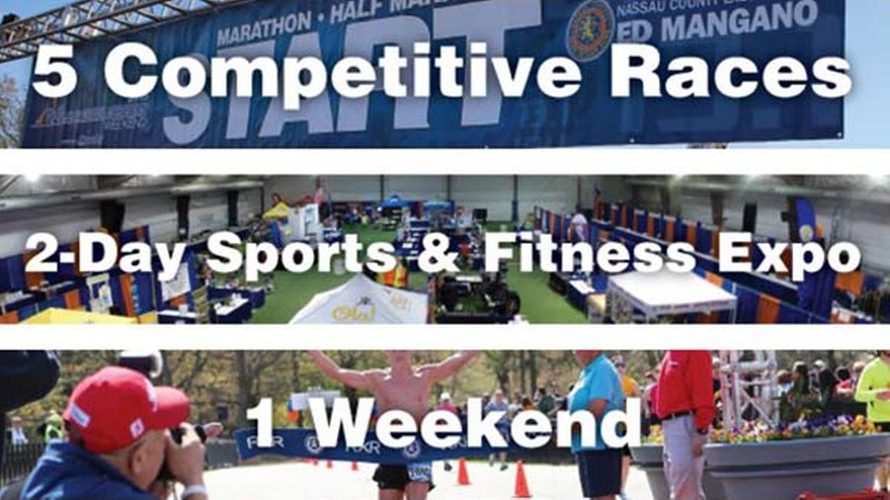 Five Races and a Sports and Fitness Expo: 2016 Long Island Marathon week!