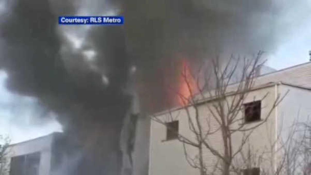 Massive fire leaves six families homeless in Bloomfield