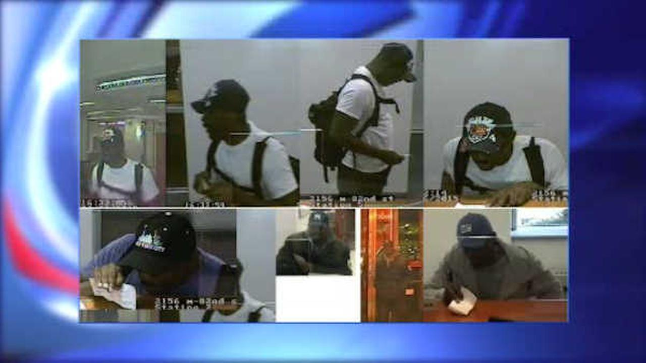 Suspect sought in spree of bank robberies in Manhattan