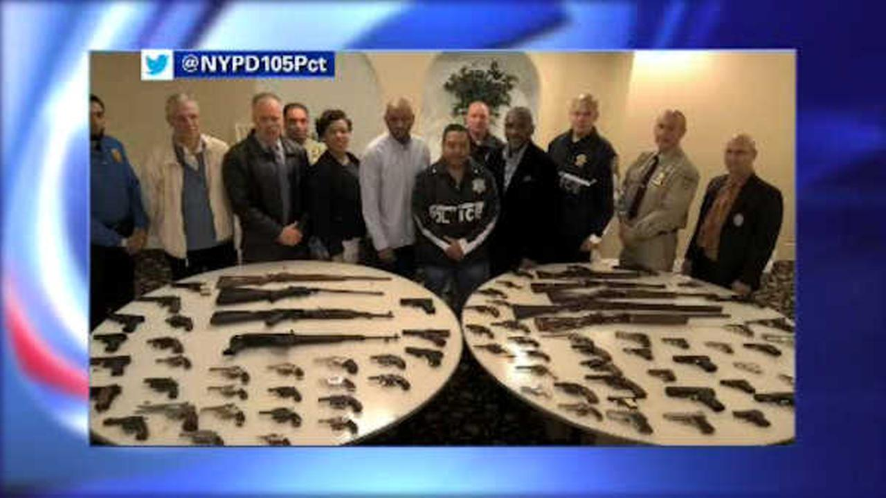Gun buyback in Queens takes nearly 90 weapons off the streets