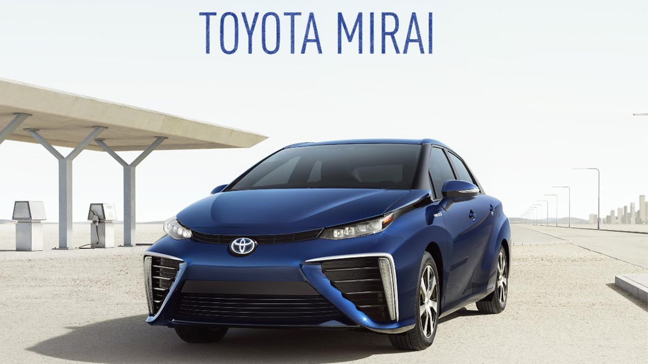 Sponsored: Toyota Mirai: Hydrogen Fuel Cell Vehicle