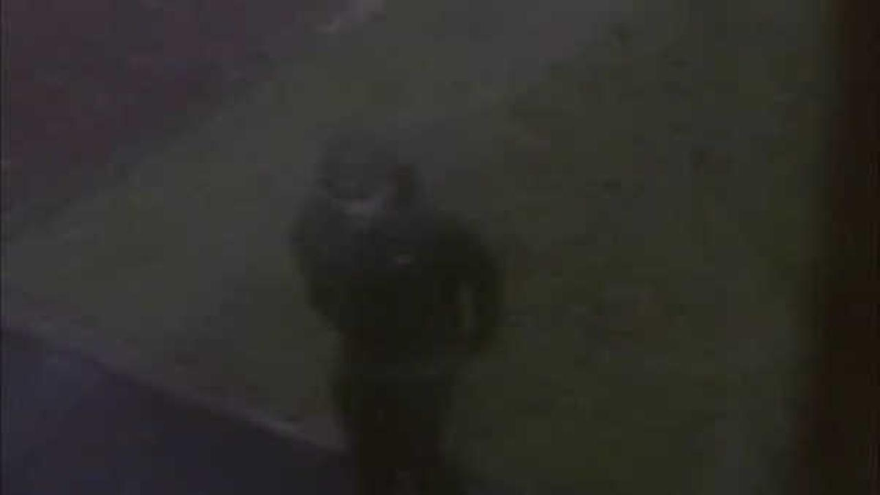 Surveillance video was released of the suspect in the Neptune home burglary..