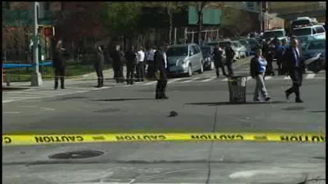 Man shot after exchanging gunfire with police in Brooklyn