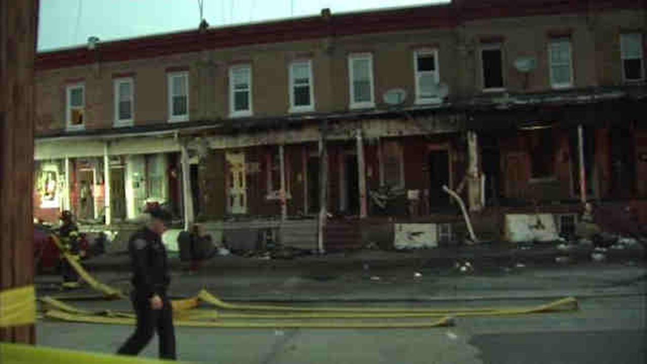 6 people injured, including 4 children, in Camden fire