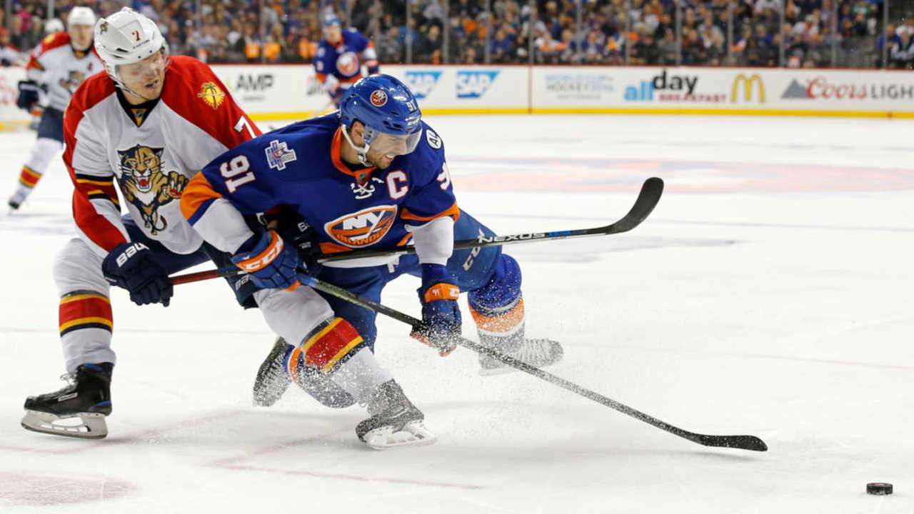 Islanders beat Panthers in double OT, win first playoff series since 1993