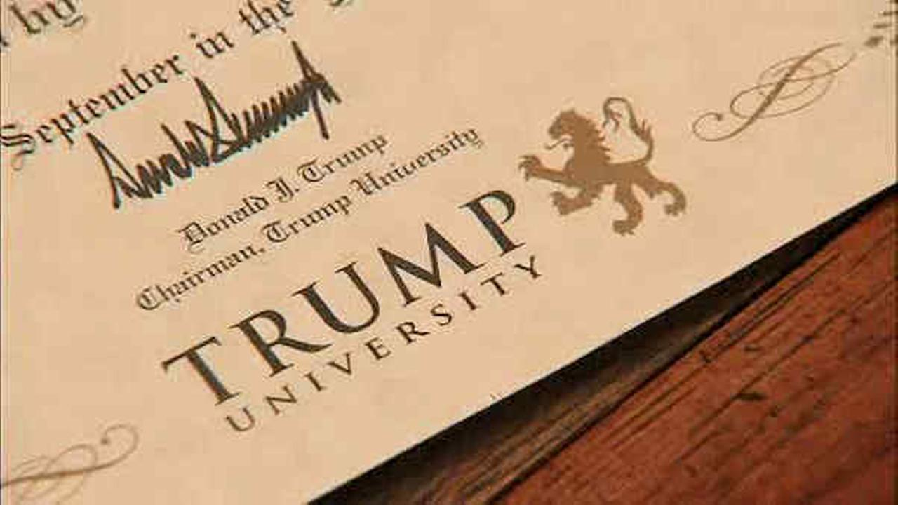 NY AG announces $25M settlement in Trump University case