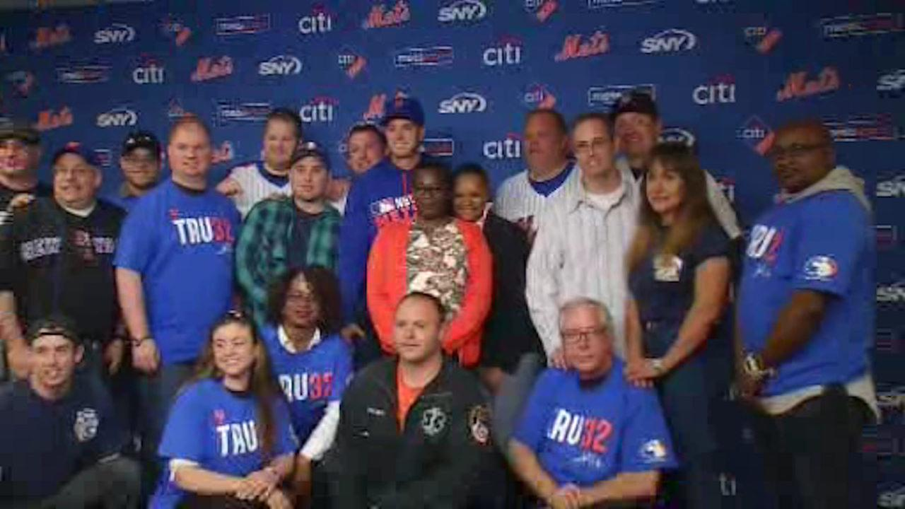 Mets pitcher to honor first responders and military members at home games