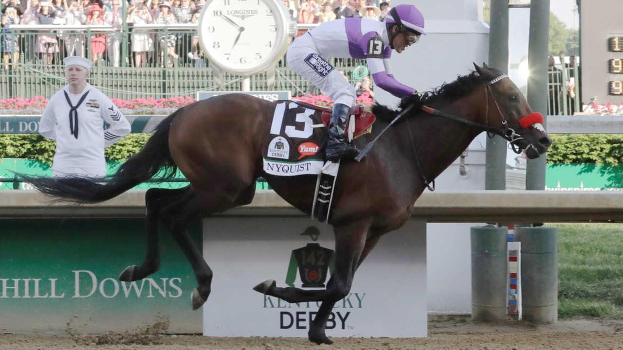 'Nyquist' wins 142nd Kentucky Derby