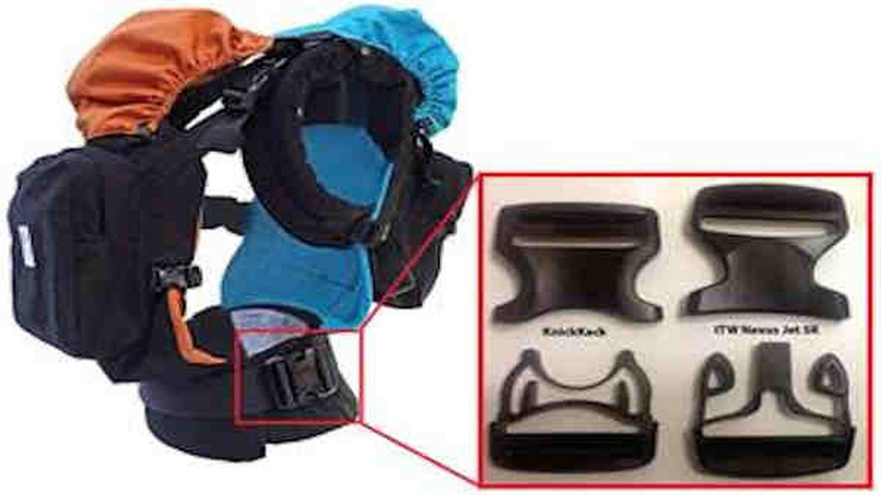 Twin Go baby carrier being recalled due to bad buckle