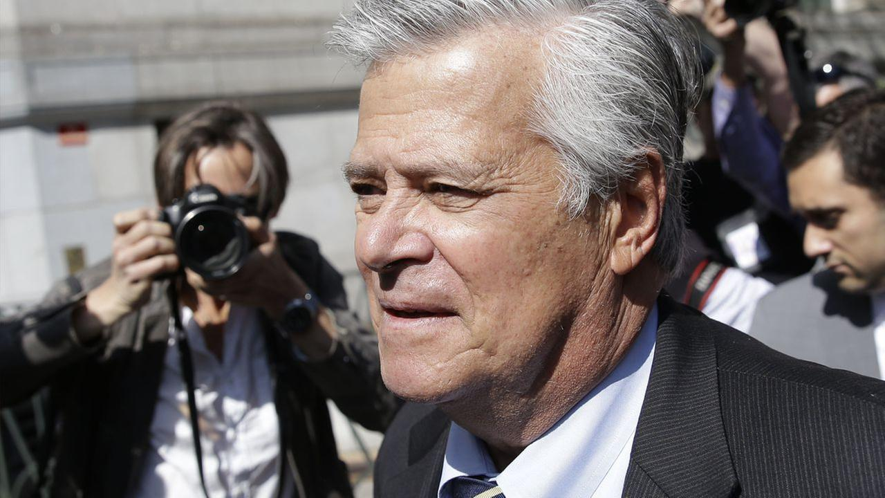 Former New York Senate majority leader Dean Skelos arrives to court in New York, Thursday, May 12, 2016.