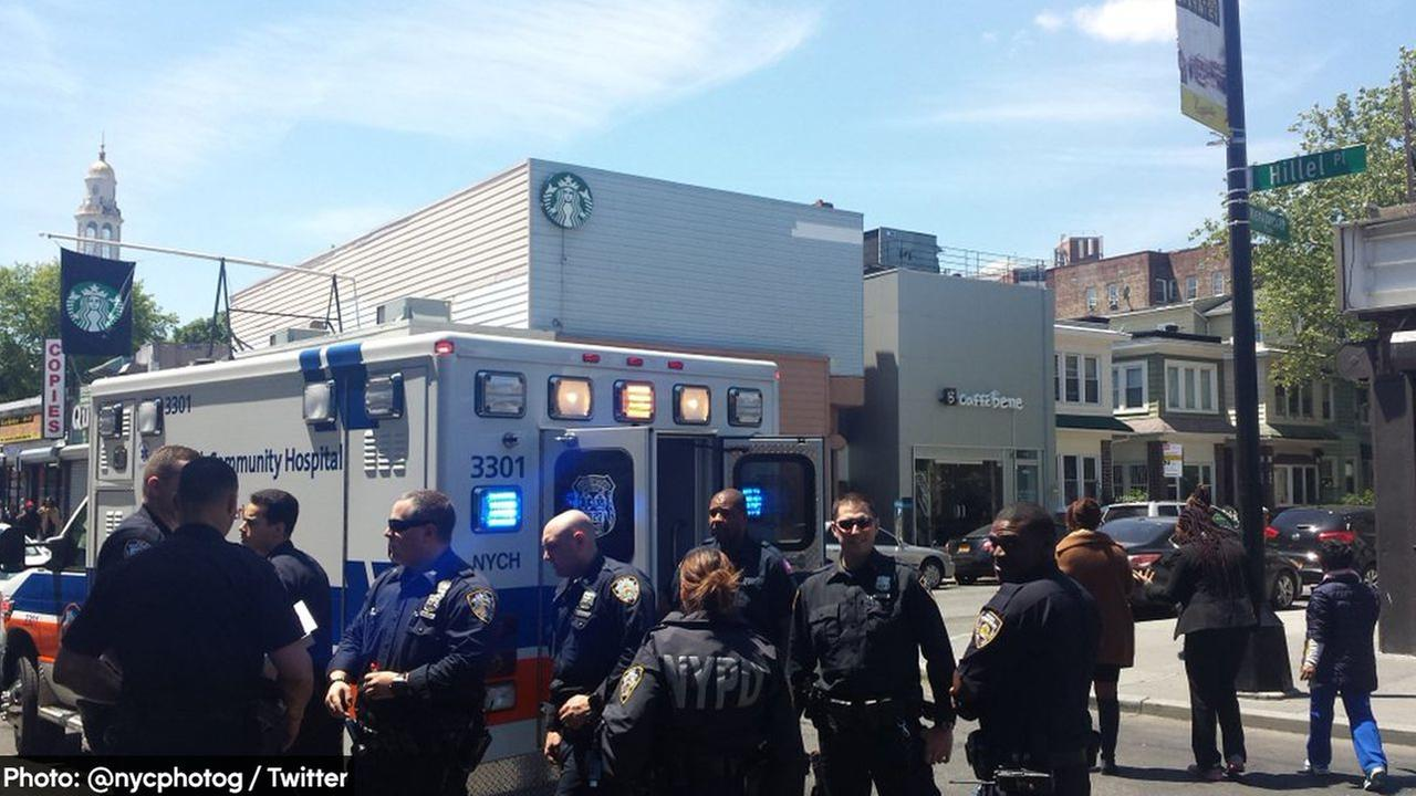 Woman randomly punched in face by man on Brooklyn street