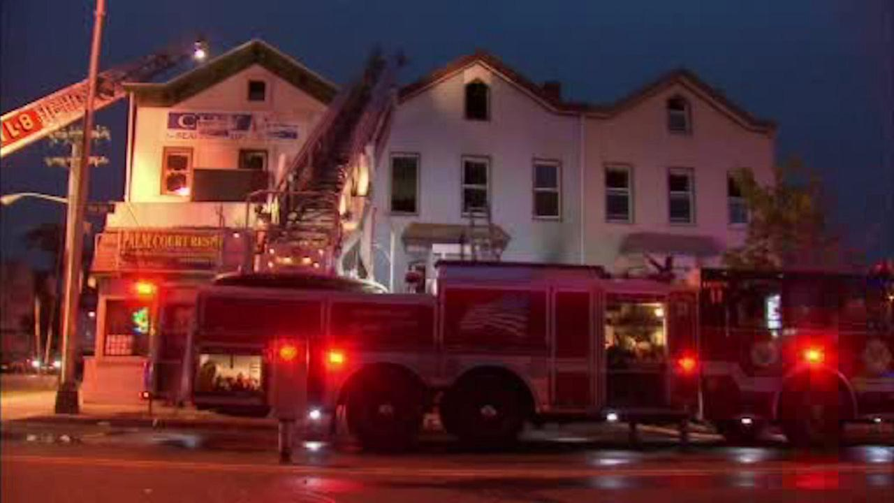 Fast moving fire in Jersey City claims man's life