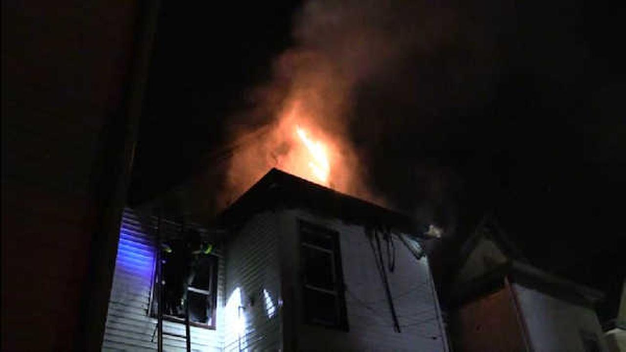 16 homeless after fire burns through home in Passaic, New Jersey