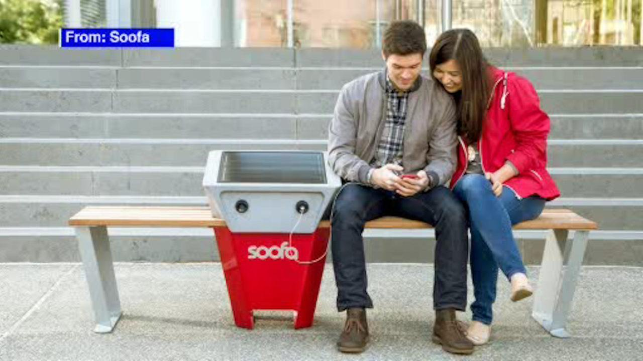 NYC Parks launches pilot program for solar powered smart benches