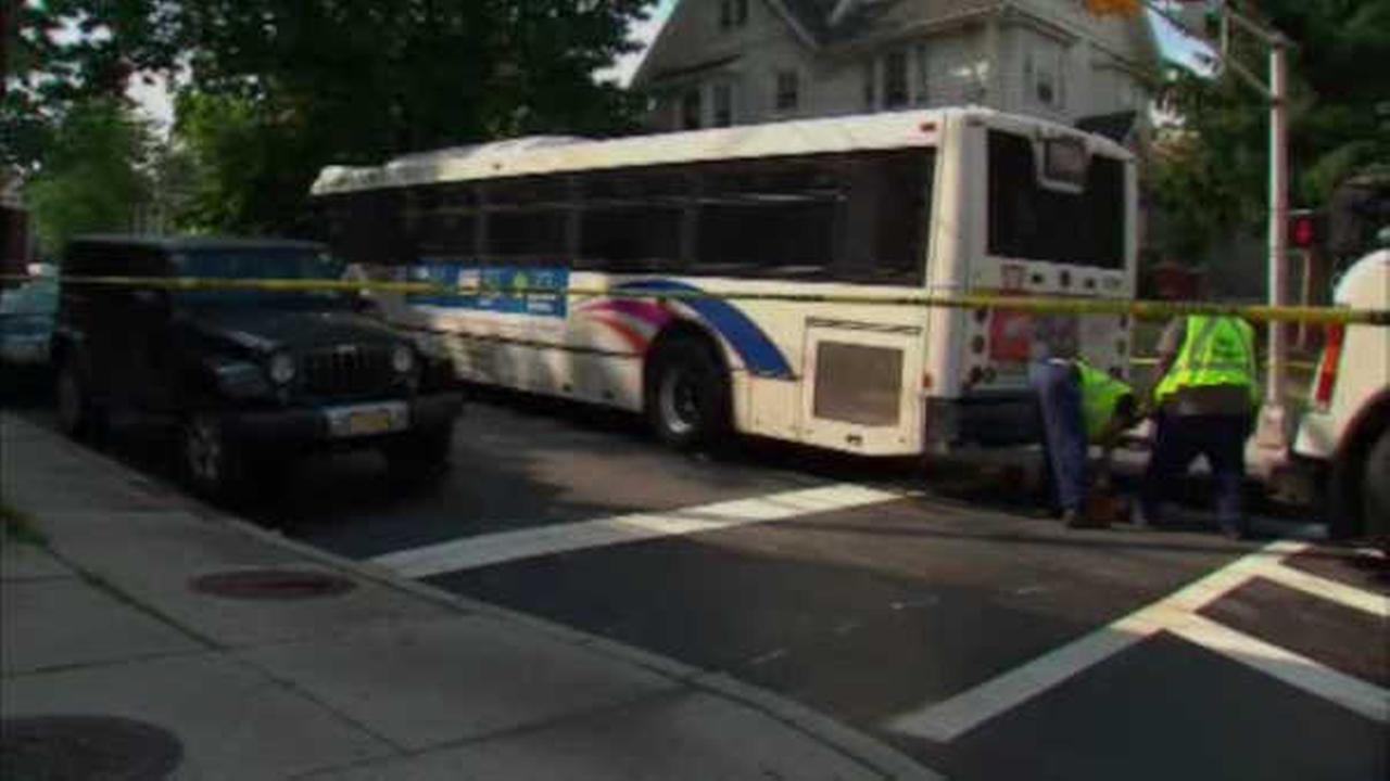 Pedestrian critically injured after being struck by NJ Transit bus in Newark