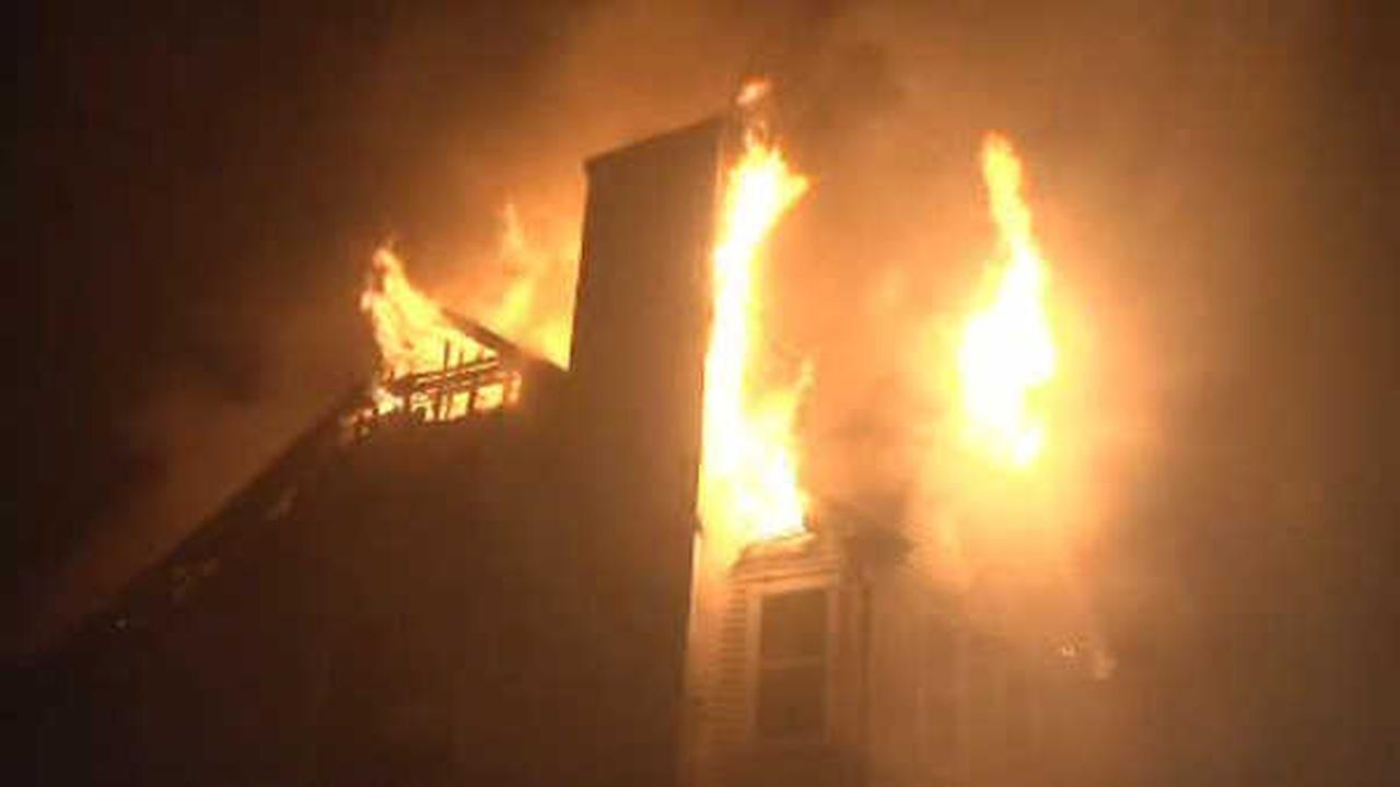 6 families left homeless in Suffolk County condo fire