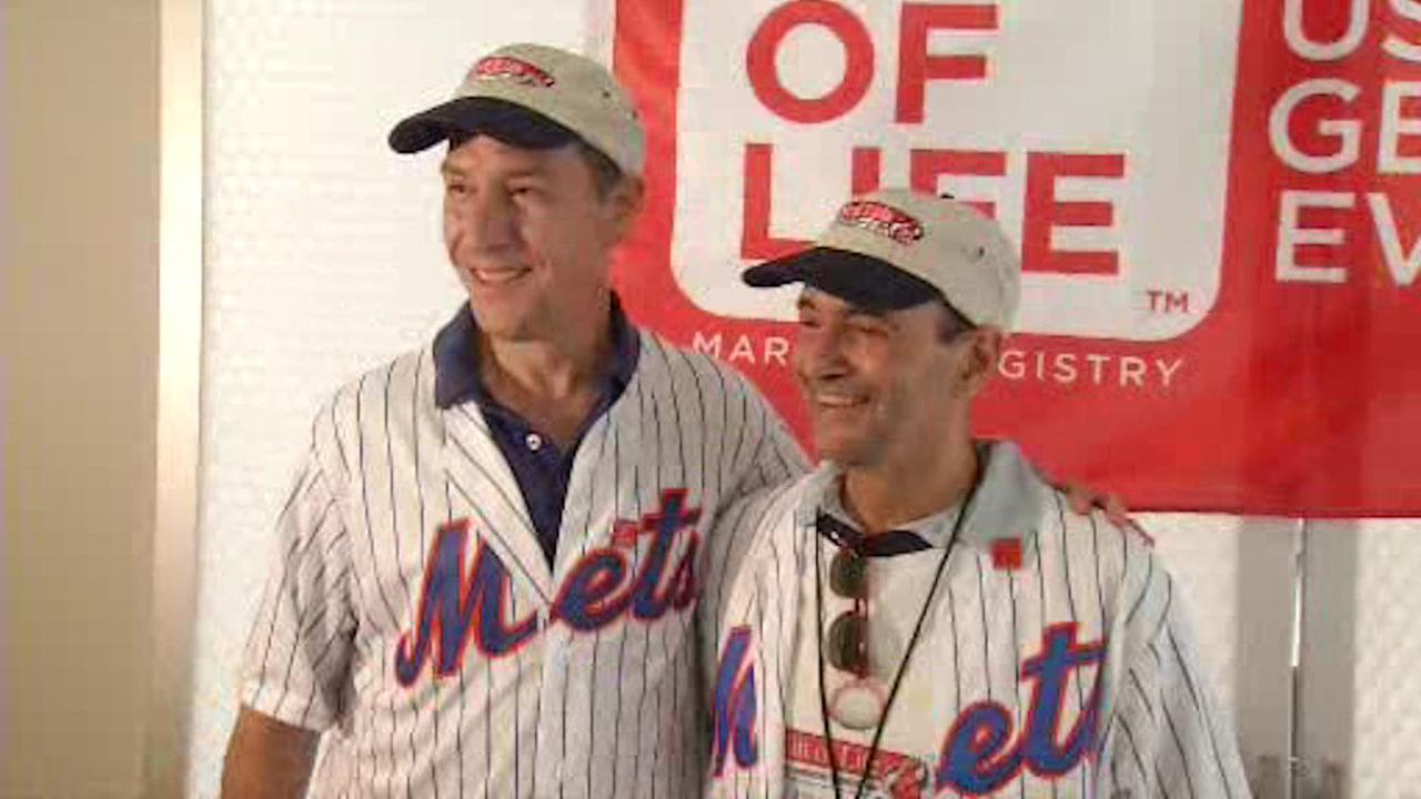 Mets host first time meeting between transplant recipient and life-saving donor