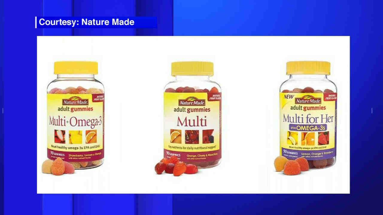 Some Nature Made dietary supplements recalled