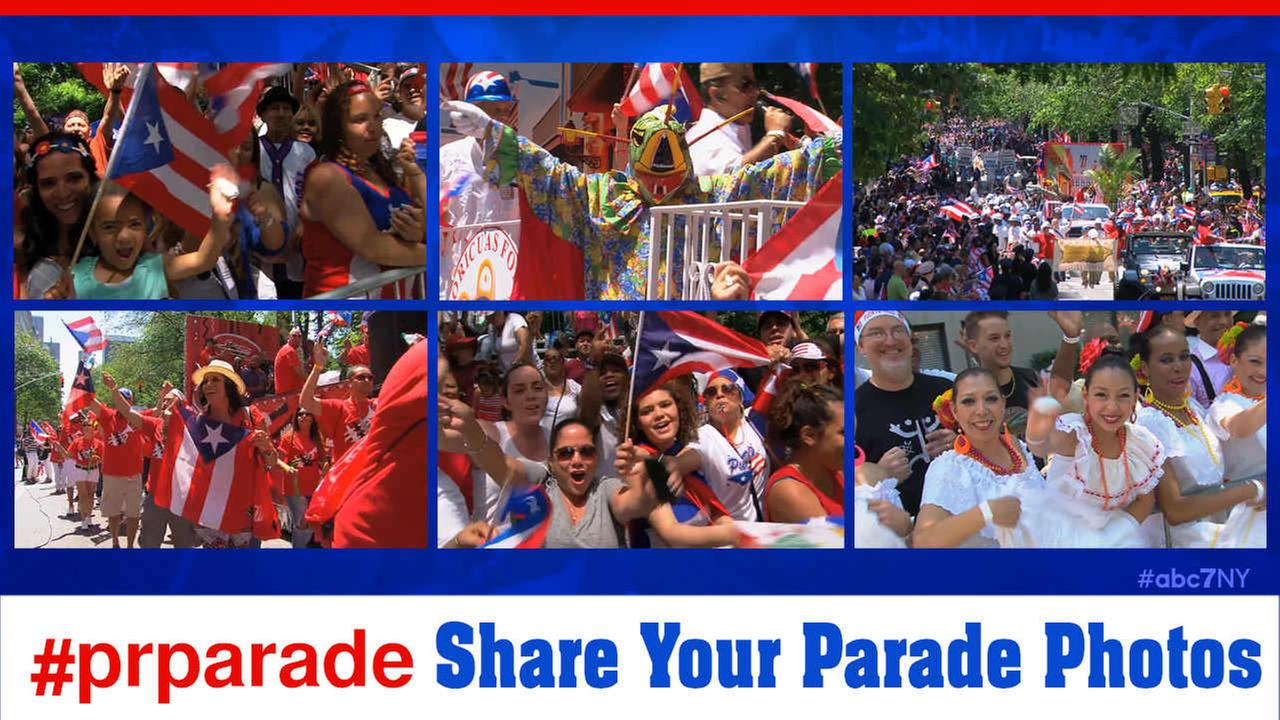 national puerto rican parade new york city photos
