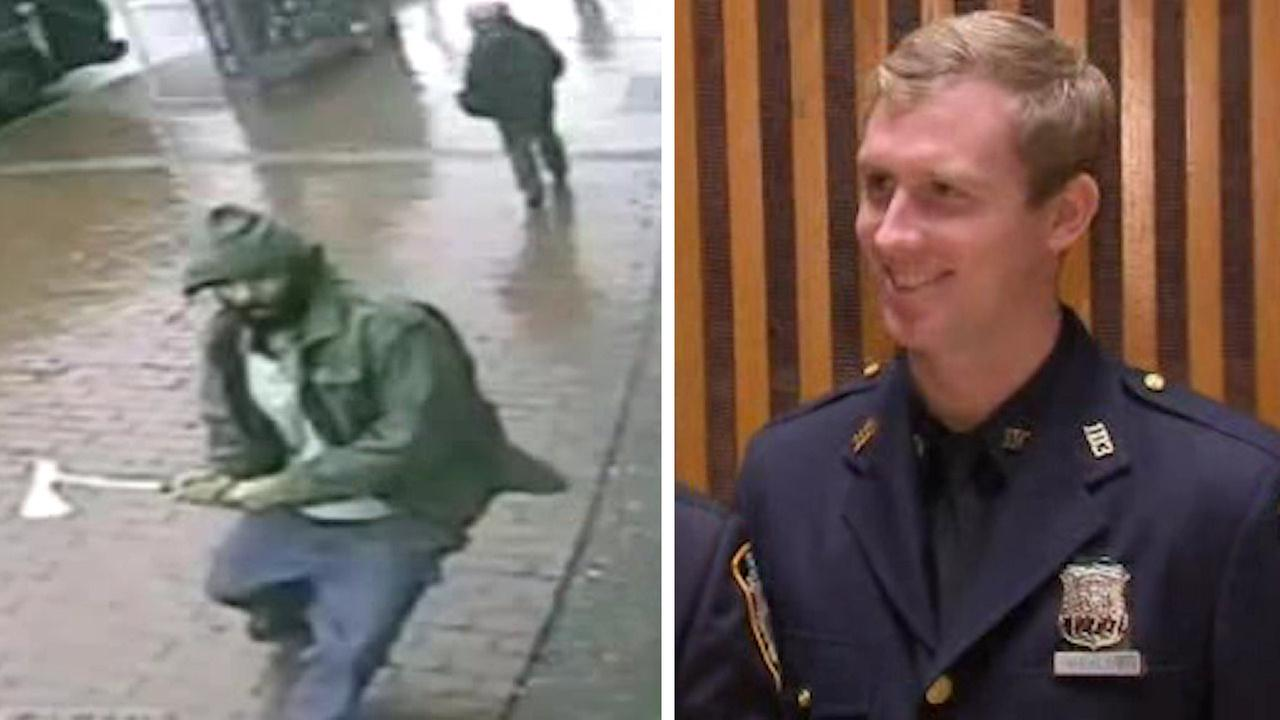 NYPD officer hurt in Queens hatchet attack receives Medal of Honor