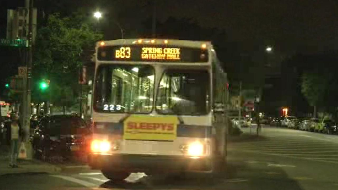 Passenger accused of hitting MTA bus driver with bottle in Brooklyn