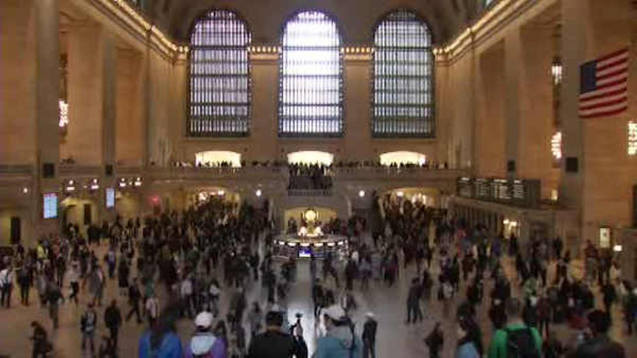 Emergency drill at Grand Central Terminal to simulate chemical, biological attacks
