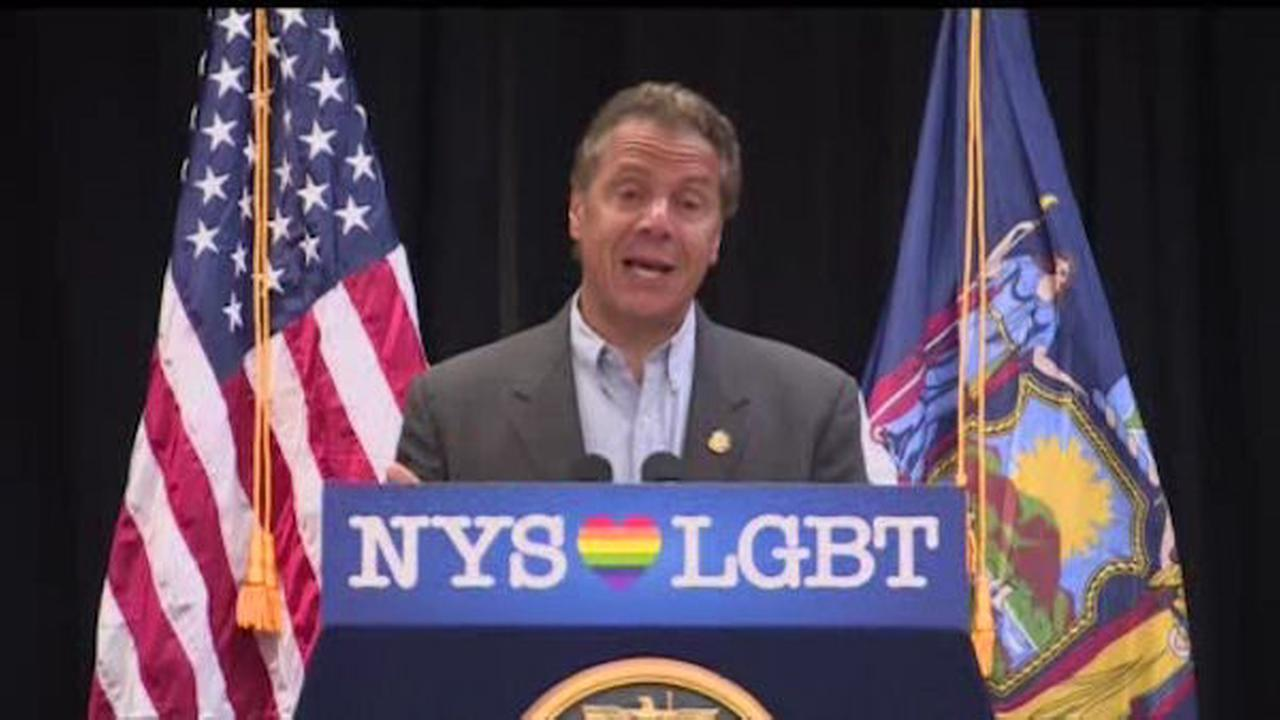 Gov. Cuomo announces monument to honor victims of Orlando nightclub shooting