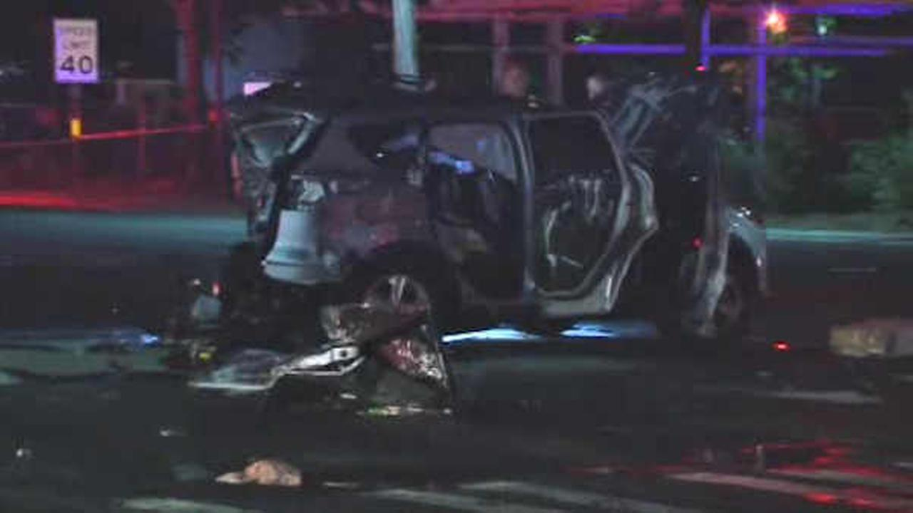 Man charged with DWI after three-car crash kills woman in Huntington Station