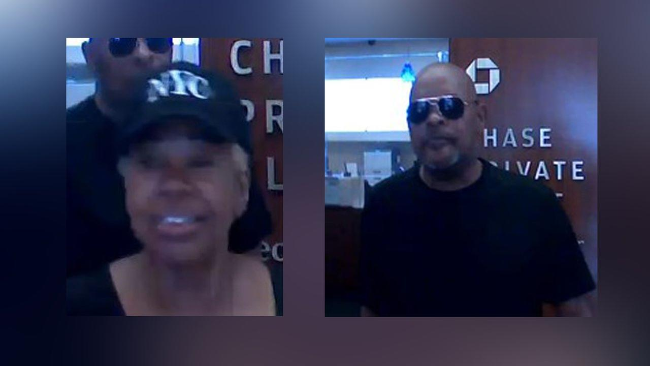 Man and woman sought in at least 6 bank robberies in Manhattan
