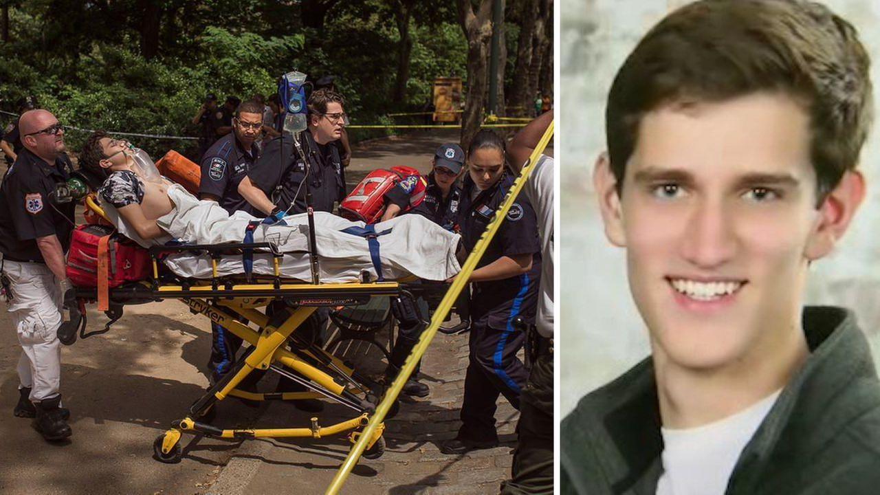 Teen who stepped on Central Park explosive has setback, surgery