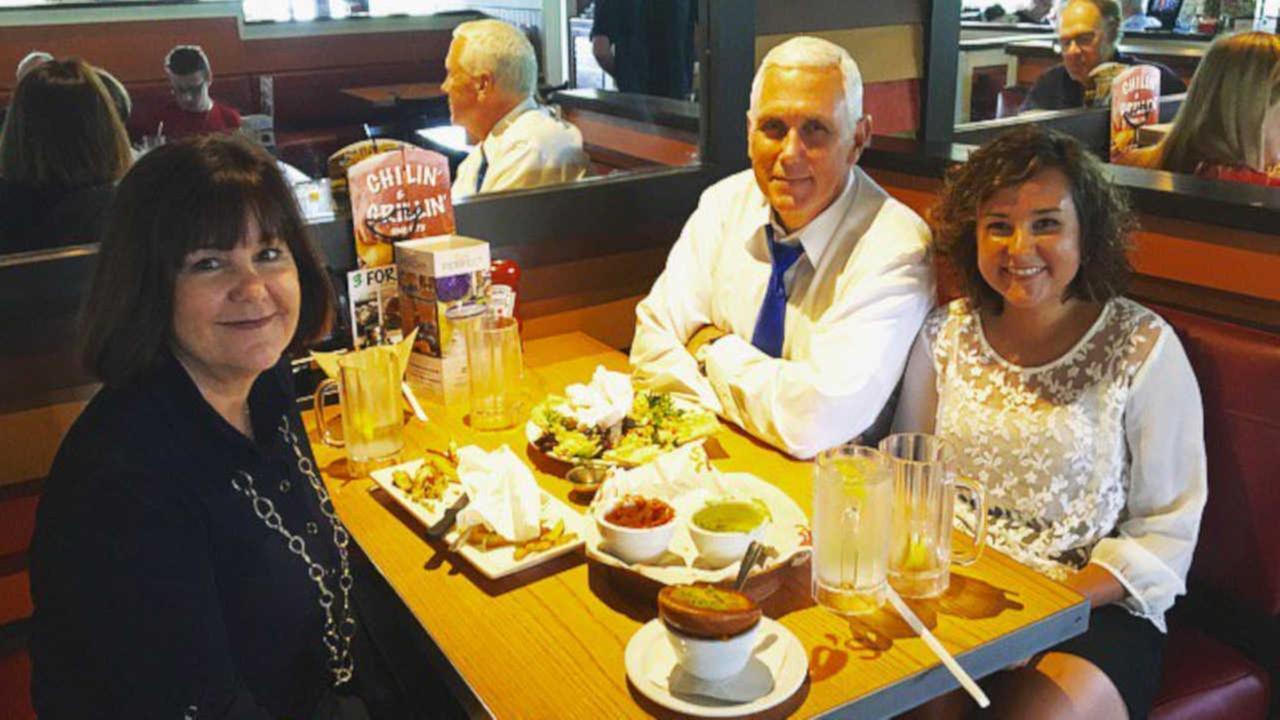 Gov. Mike Pence's tweet about 'NY Chili's' creates social media backlash