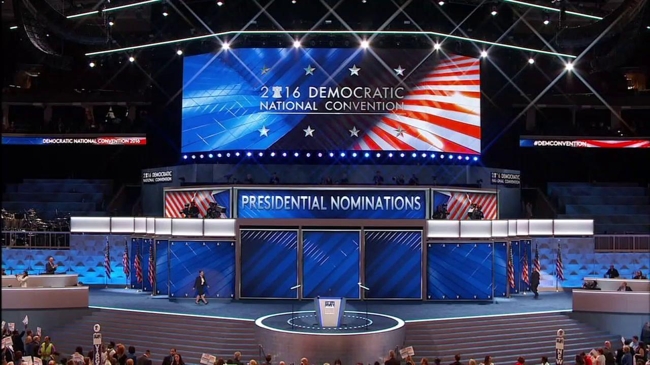 VIDEO: Watch as delegates from New York, New Jersey, Connecticut cast votes at DNC