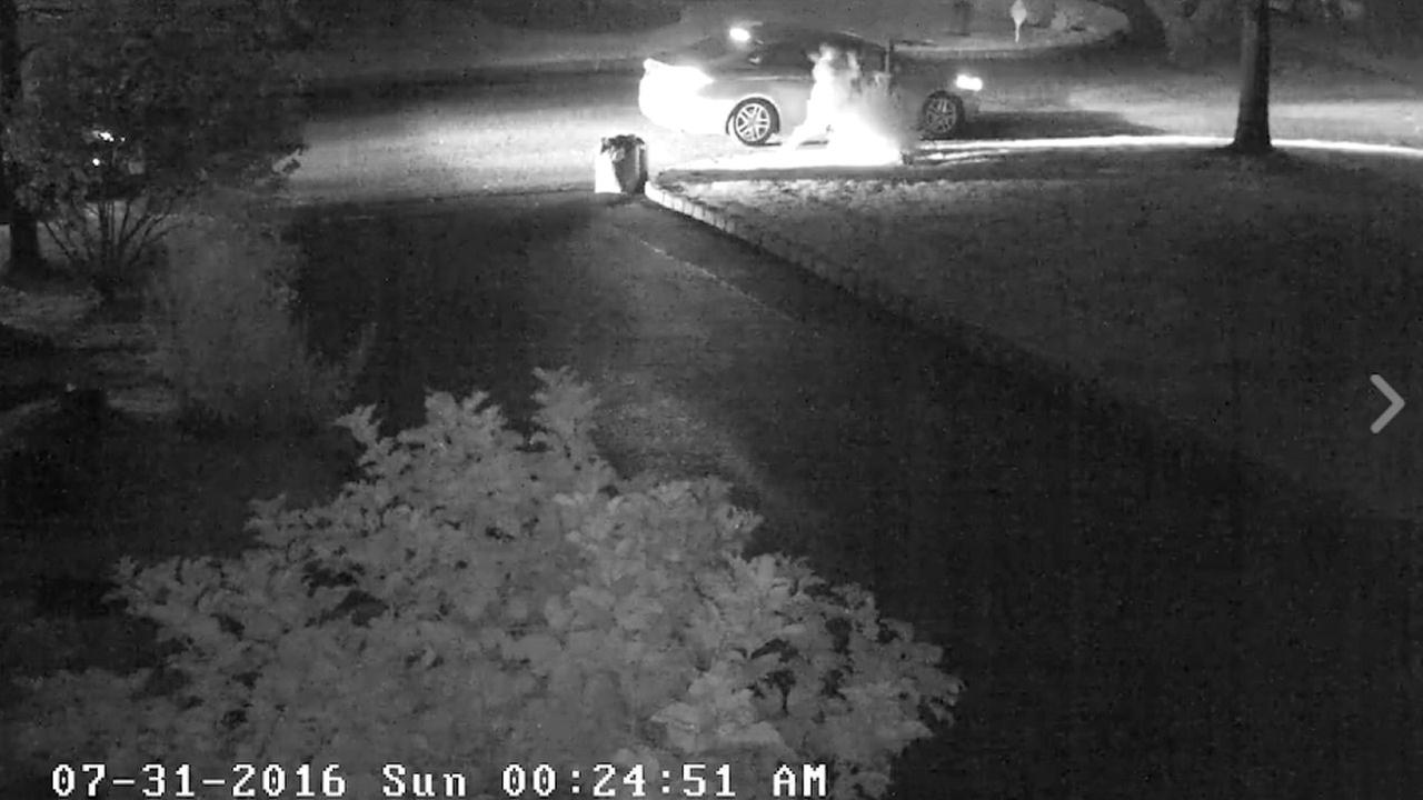 Suspect caught on camera smashing mailboxes in Pearl River