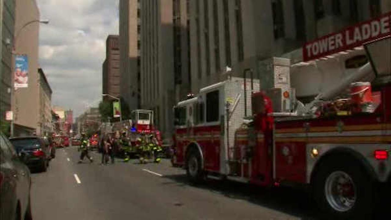 Transformer fire forces partial evacuation at Lower Manhattan court building