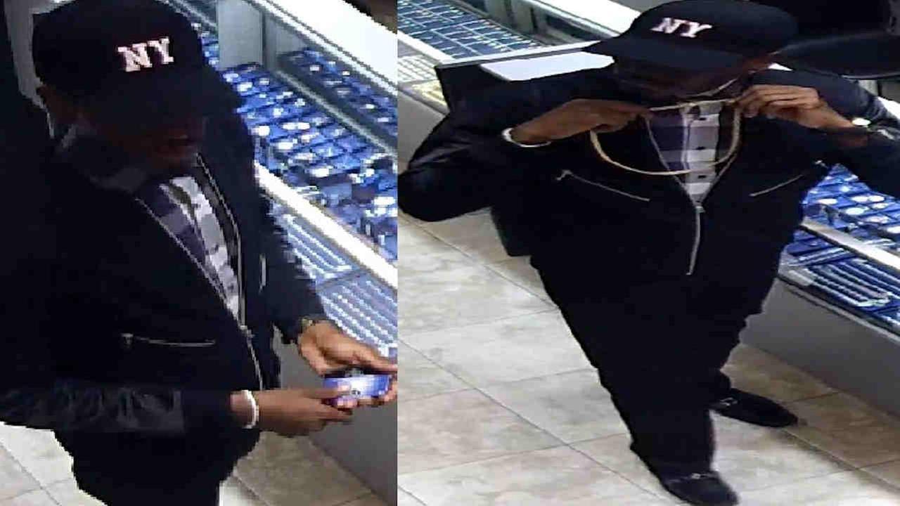 Police: Man tries to rob jewelry store in Diamond District until gun falls apart