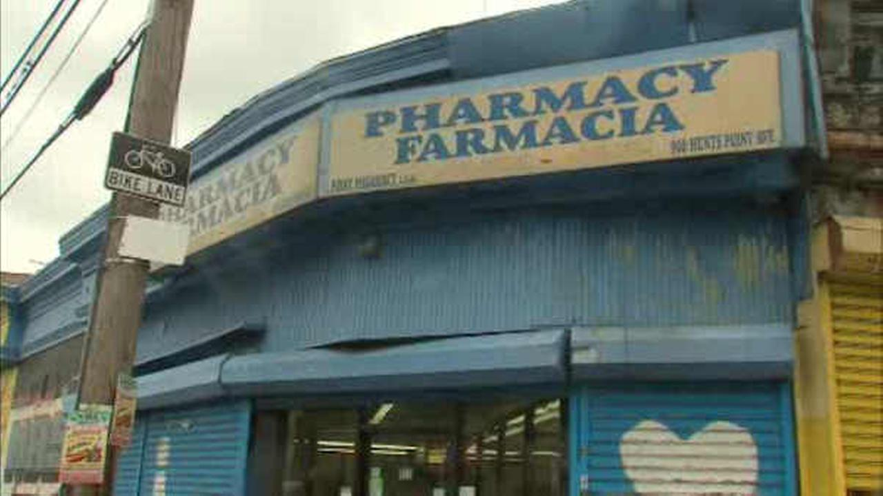Raids were carried out at three Bronx pharmacies