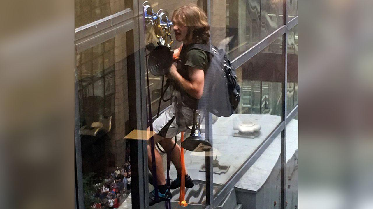 Who is 'Steve from Virginia' the Trump Tower climber?