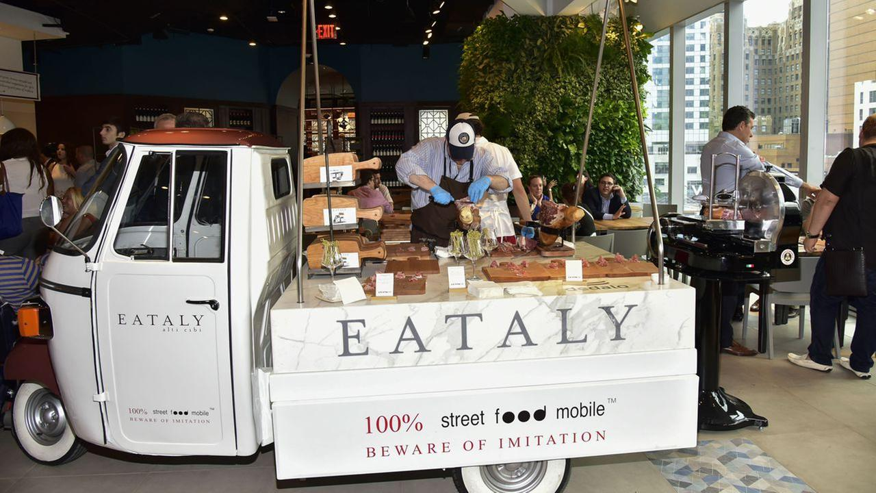Atmosphere at the Eataly Downtown NY Ribbon Cutting on August 2, 2016 in New York City. Photo by Eugene Gologursky/Getty Images for Eataly Downtown