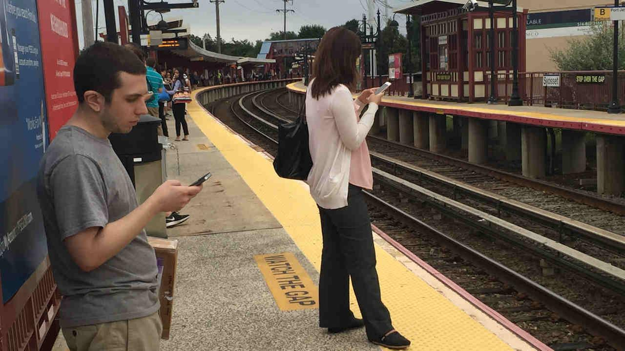 Service on three Long Island Rail Road lines was suspended after someone on the tracks was hit by a train.