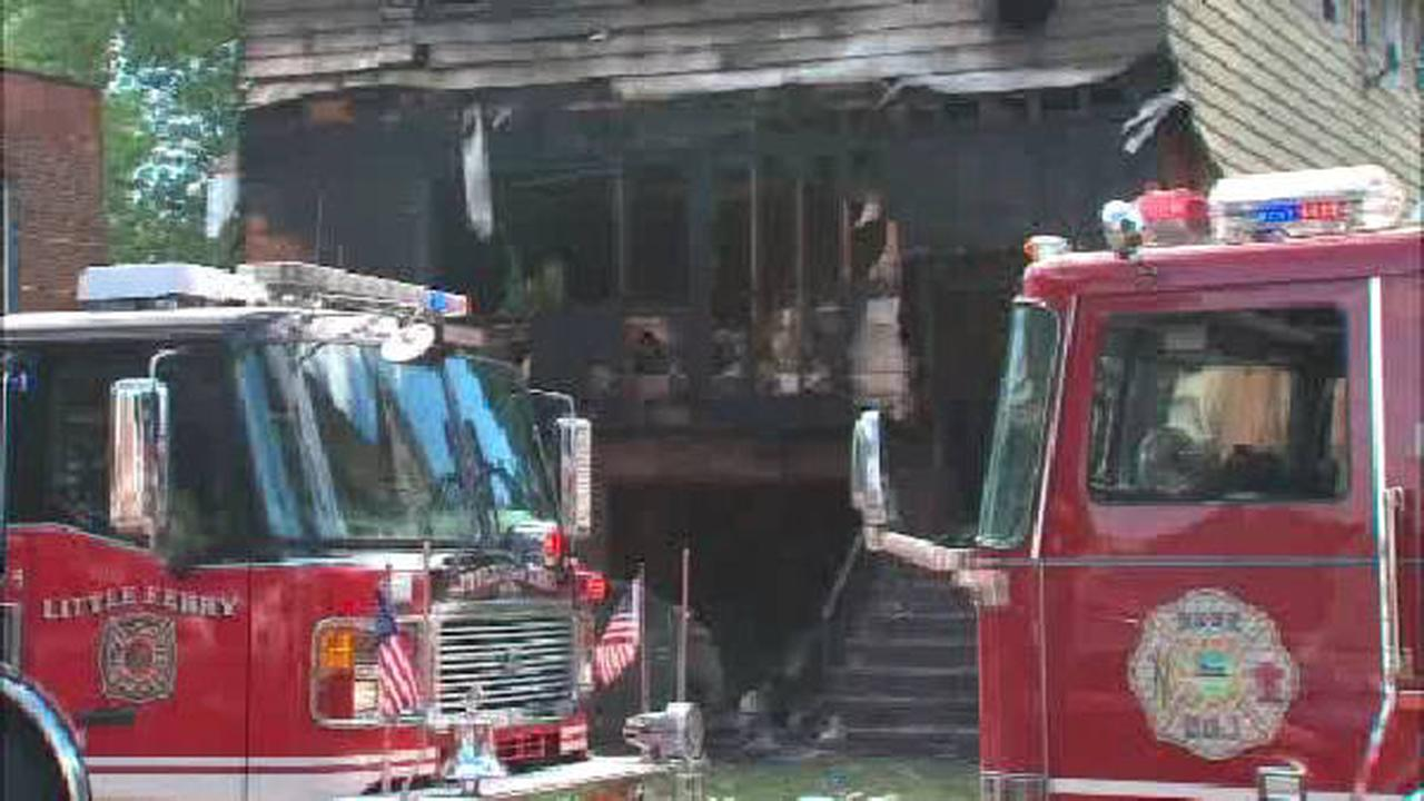 Grandmother dies in hospital from Little Ferry house fire