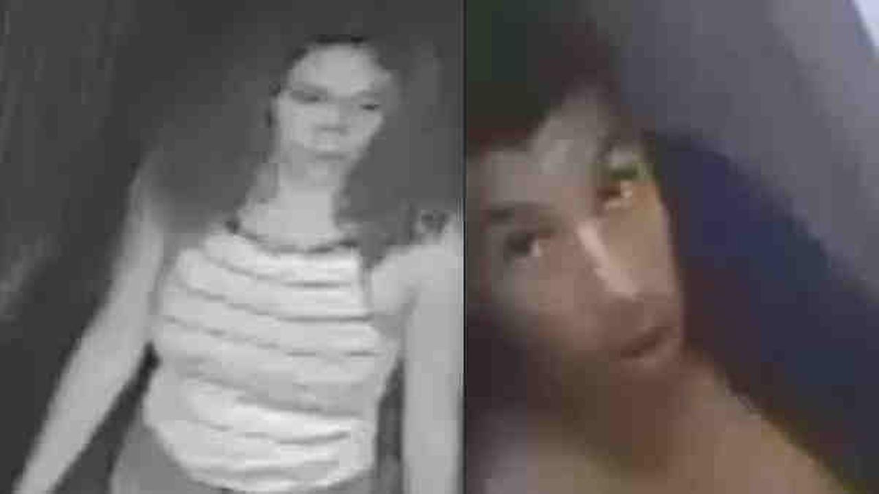 Police are looking for a man and a woman in connection with the burglary of the Consulate General of the Republic of Indonesia early Monday morning.