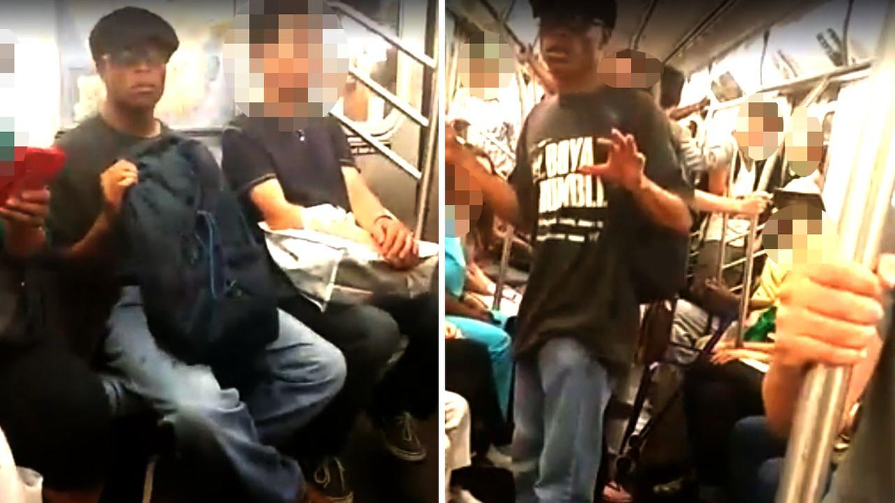 Alleged New York City subway fondler shamed in viral video arrested