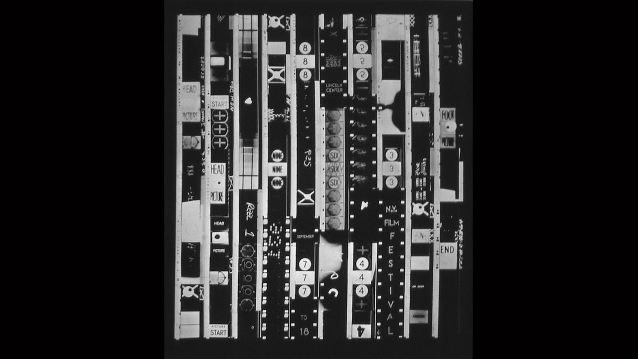 Poster Artist: Bruce Conner.  1965New York Film Festival