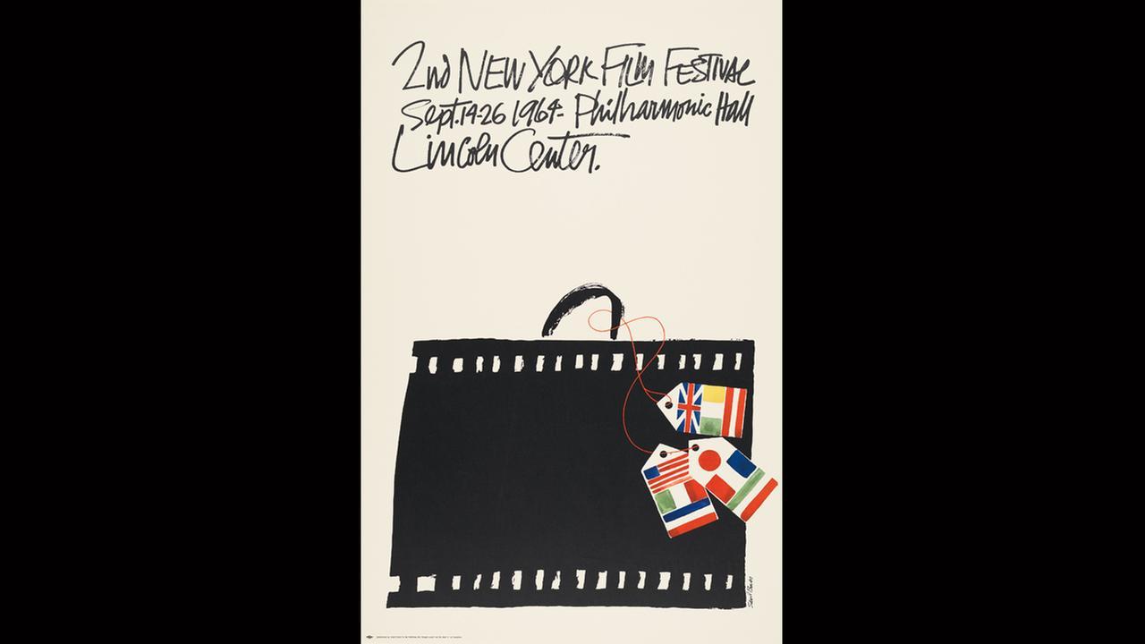 Poster Artist: Philip Pearlstein. 1991