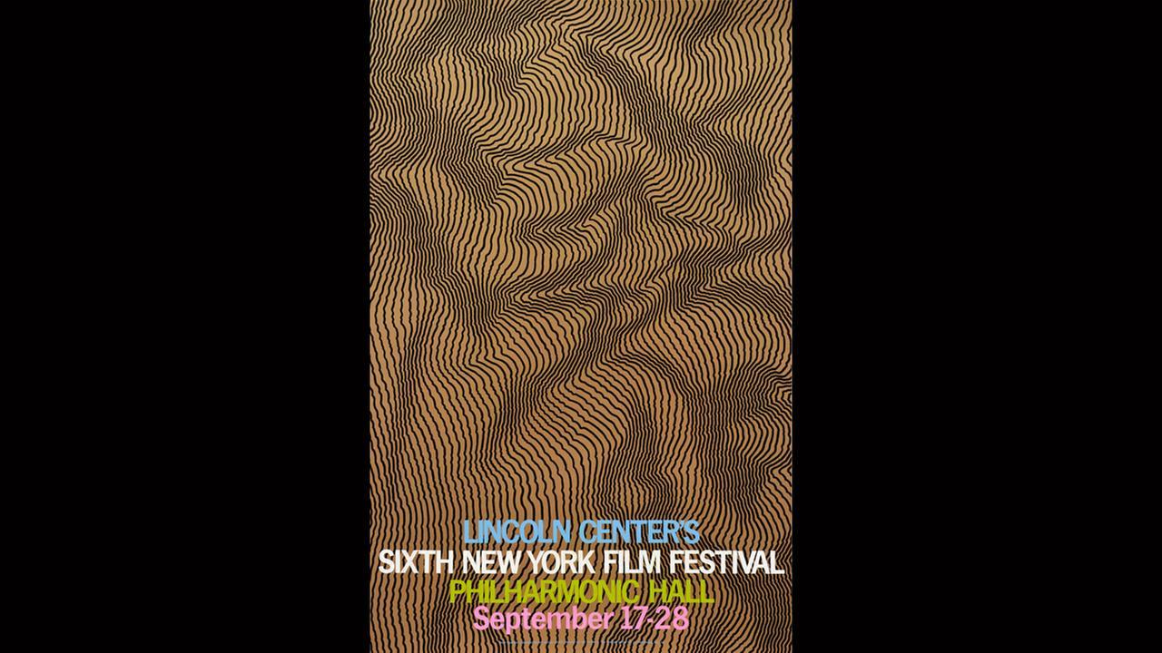Poster Artist Henry Pearson. 1968New York Film Festival