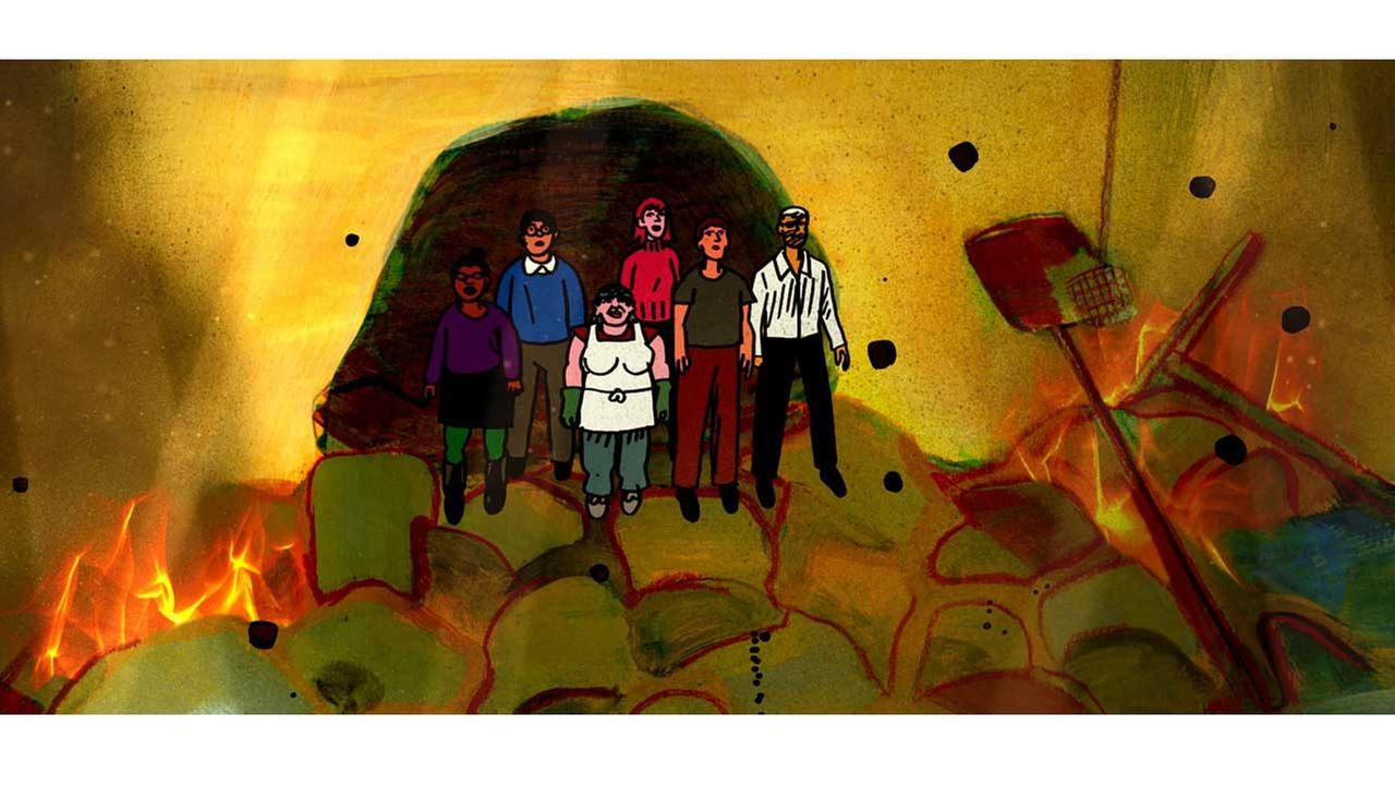 My Eniter High School Sinking into the Sea: Dash Shaw brings his subjective, dreamlike sense of narrative to his first animated feature.Film Society of Lincoln Center