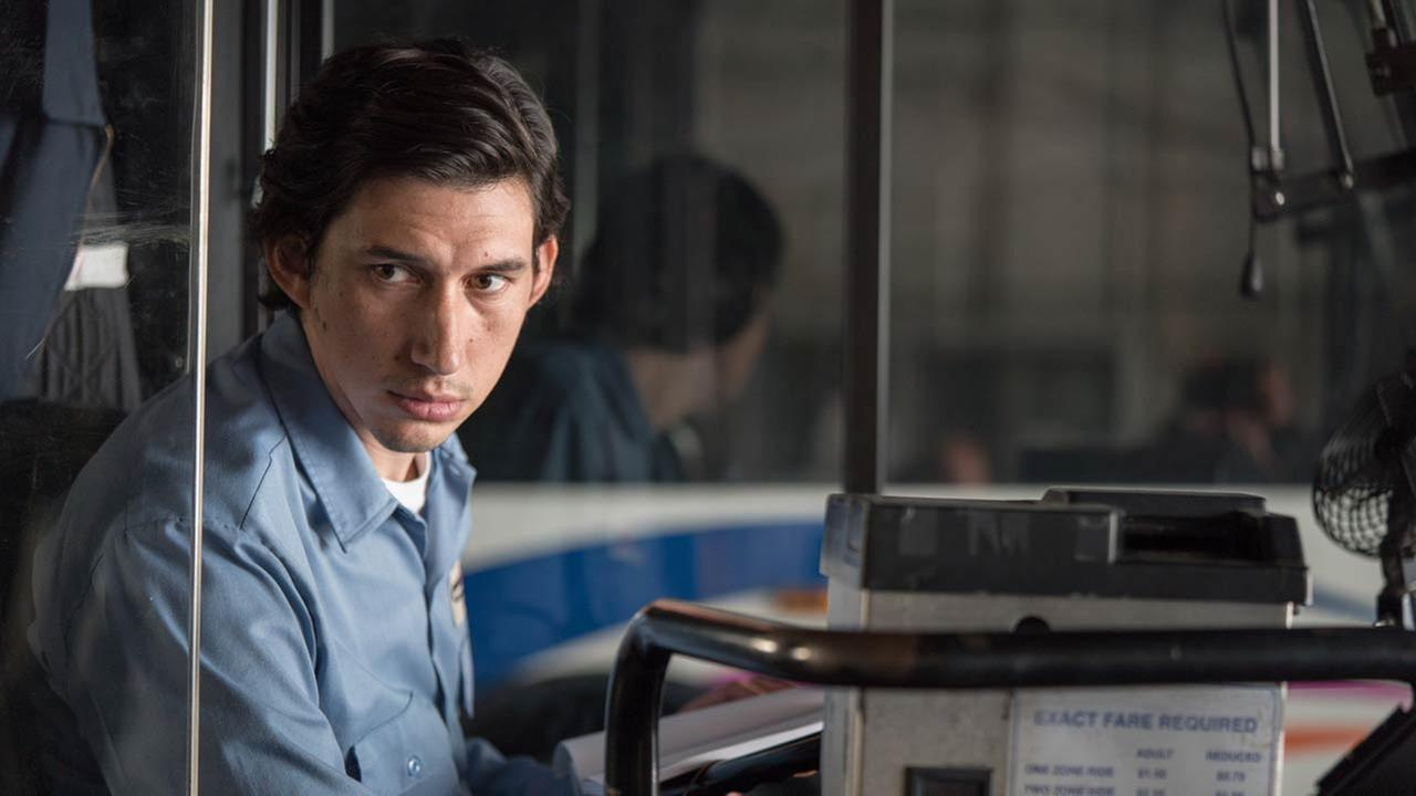 Paterson: Adam Driver is Paterson, a bus driver who writes poetry and happens to live and work in the city of Paterson, New Jersey, with his effervescent and energetic girlfriend.Film Society of Lincoln Center
